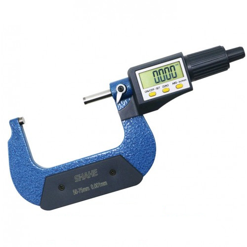 Микрометр электронный цифровой (50-75мм/0,001мм) PROTESTER 5202-75
