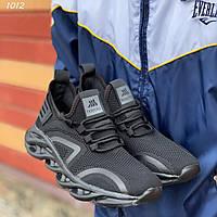 Мужские кроссовки черные, фото 1