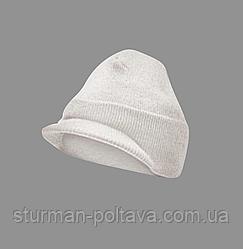 Вовняна Шапка JEEP CAP ROTHCO з козирком біла
