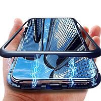 Magnetic case (магнітний чохол) для Vivo Y95 / Y93 Lite (fingerprint on back cover)