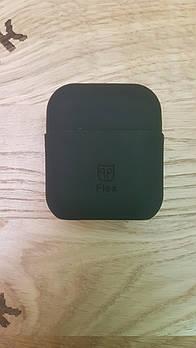 Силиконовый чехол для беспроводных наушников Apple Airpods PodPocket flex Black