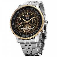 Мужские механические часы с автоподзаводом Jaragar Luxury (тахиметр, хронограф)
