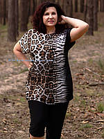 Женский летний костюм большие размеры (50 по 64 размер)