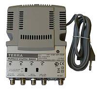 TERRA MA044 (4 входа МВ1+МВ2+ДМВ+ДМВ, усиление 30-34дБ)