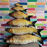 Рыба подушка мягкая игрушка декоративная сувенир 20 см, фото 1