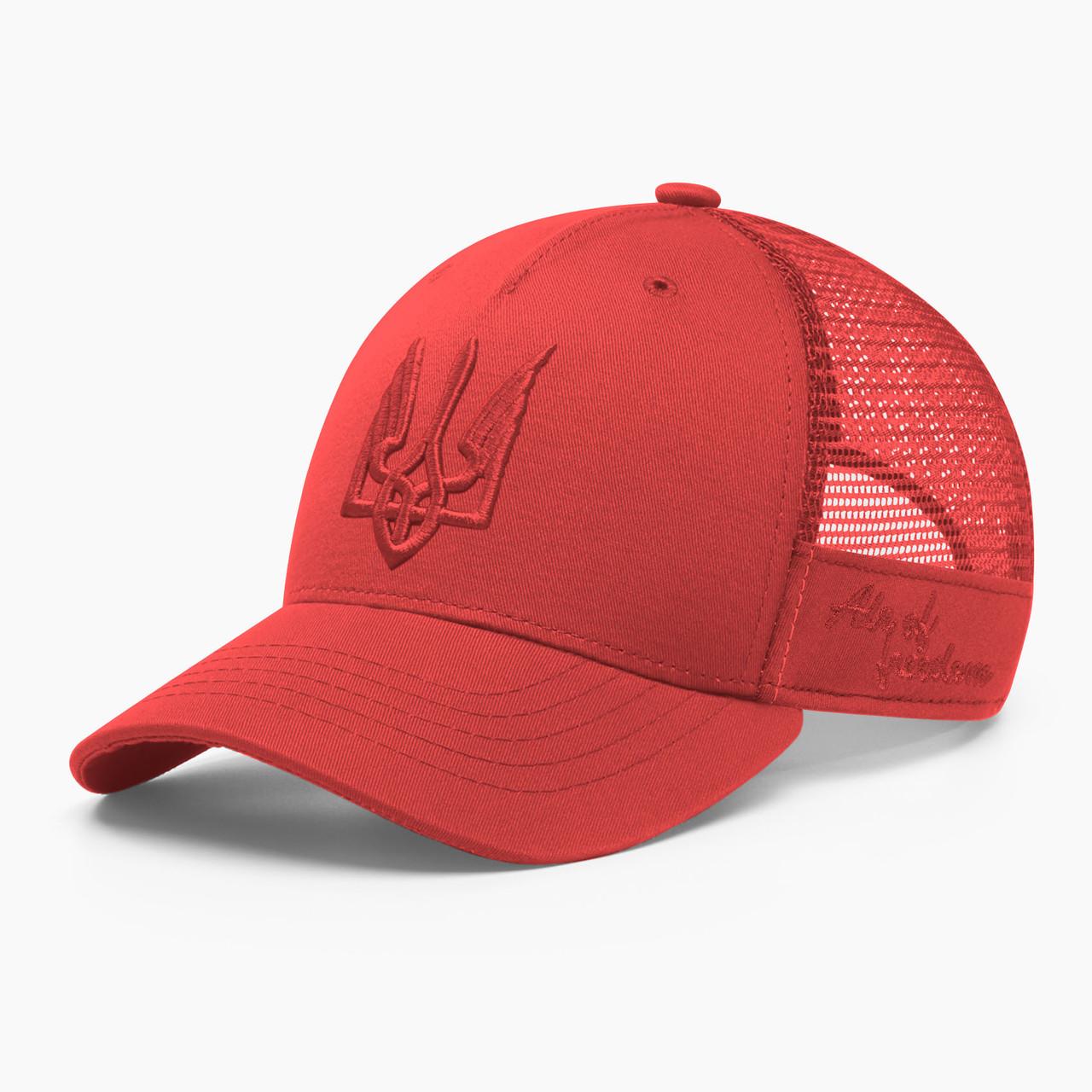 Купить Кепка бейсболка с сеткой тракер INAL air of freedom S / 53-54 RU Красный 183053