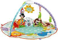 """Детский развивающий игровой коврик """"Умный малыш"""" Joy Toy, музыкальный,  диаметр 100 см, 7182"""