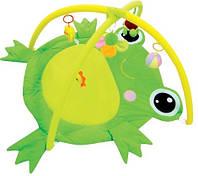 Детский развивающий игровой коврик с погремушками, 80x58 см, 898-21В