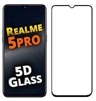 Защитное стекло 5D для Realme 5 PRO (реалми 5 про)