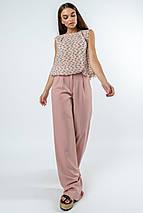 Женский костюм с блузкой и широкими брюками (Китти-Шер ri), фото 2