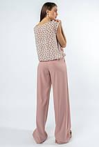 Женский костюм с блузкой и широкими брюками (Китти-Шер ri), фото 3
