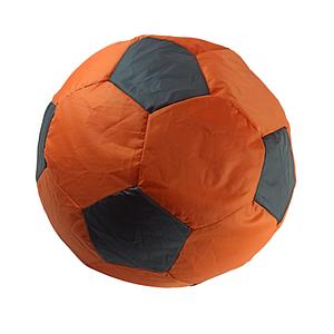 Пуф М'яч Українська оселя  50 см* 50 см помаранчевий