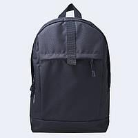 Рюкзак кожаный Twins черный