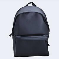 Рюкзак большой Twins кожаный черный, фото 1