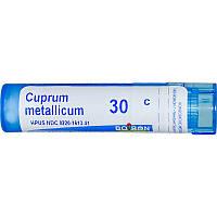 Boiron, Single Remedies, Купрум металликум, Cuprum Metallicum от судорог 30C, 80 гранул