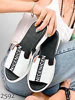 Летняя удобная женская обувь, шлепки, босоножки, мокасины, туфли.Шлепки женские кожаные. Лето 2020