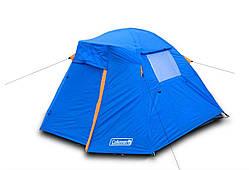 Палатка двухместная двухслойная с тамбуром и тентом Coleman 1013