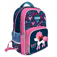 Рюкзак шкільний S-42 Love XOXO, 1Вересня