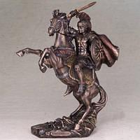 """Бронзовая статуэтка """"Александр Великий"""" 30х22 см шикарный подарок для настоящего мужчины!"""