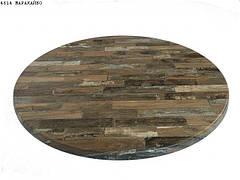Влагостойкая столешница для стола круглая Верзалит ( Werzalit ) Д 80 см. Турция.