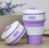Складная силиконовая термо-чашка SELICON MAGIC CUP, фото 4