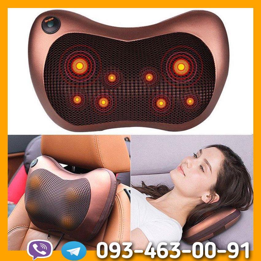 Масажна подушка Massage Pillow 8028, Лікувальна подушка-масажер