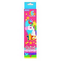 Олiвцi  6 кольорів Magic unicorn, 1Вересня (24)