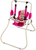 Детская Качель Babyroom Casper малина-св.бежевый
