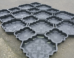 Формы пластик для тротуарной плитки
