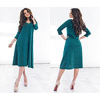 Платье женское красивое из ангоры Рубчик 1151
