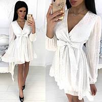 Женское платье нарядное шифоновое №591239