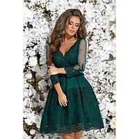 Нарядное платье с пышной юбкой красивое 7246-2