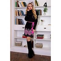 Красивое женское платье  вязка 3308