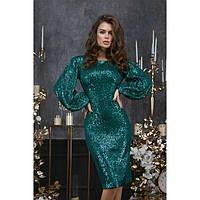 Нарядное платье женское в пайетках 227310