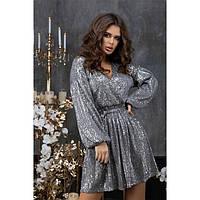 Нарядное платье женское в пайетках 227298