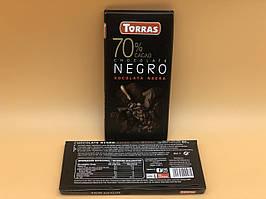 Шоколад Torras Xocolata Negra 70%  80г