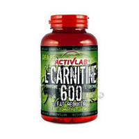 ActivLab L-CARNITINE 600 with L-ornithine and L-arginine - 60 кап