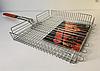 Решетка для гриля, барбекю регулируемая глубокая 30x40x60 см, фото 3