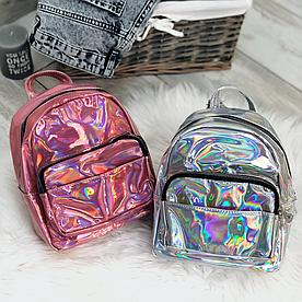 Голограммный маленький рюкзак