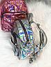 Голограммный маленький рюкзак, фото 7