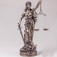"Бронзовая статуэтка ""Фемида"" 65х25 см"