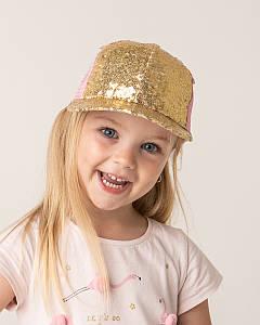 Яскрава кепка для дівчинки на літо оптом - Артикул 62017-15 рожева