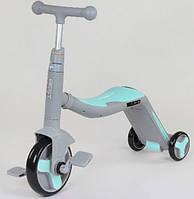 Детский велосипед (самокат) 3 в 1 со световыми и звуковыми эффектами, Best Scooter (JT10181)