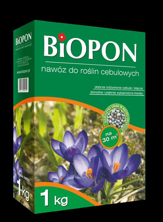 Biopon удобрение для луковичных растений 1кг Гранулированное комплексное