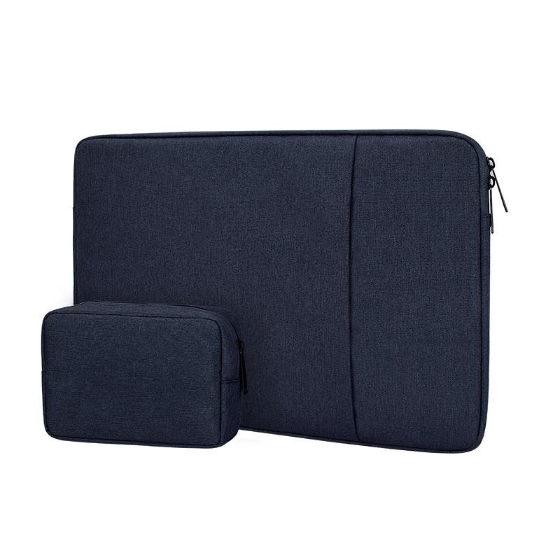Чехол для Macbook Air/Pro 13,3'' + чехол для зарядного устройства - темно синий