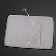 Чехол для Macbook Air/Pro 13,3'' + чехол для зарядного устройства - темно серый, фото 5