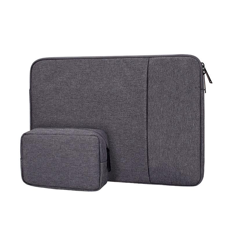 Чехол для Macbook Air/Pro 13,3'' + чехол для зарядного устройства - темно серый