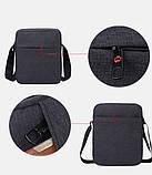 Сумка для планшета на плечо Tigernu 26*21*6 см (Светло серый), фото 4