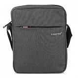 Сумка для планшета на плечо Tigernu 26*21*6 см (Светло серый), фото 3