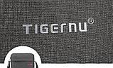 Сумка для планшета на плечо Tigernu 26*21*6 см (Светло серый), фото 9